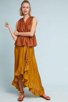 Slide View: 1: Carmen Silk Skirt