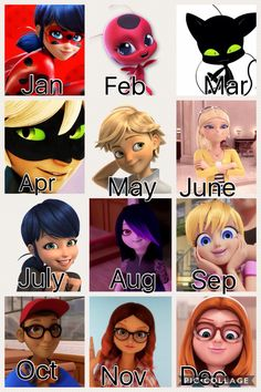 Which miraculous ladybug character are u?
