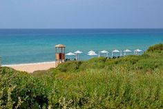 Book your escape at The Romanos, a Luxury Collection Resort, Costa Navarino. Our exclusive Costa Navarino hotel offers luxury accommodations & unmatched experiences. Luxury Accommodation, The Dunes, Sandy Beaches, Beach Fun, Hotel Offers, Strand, Wind Turbine, Costa, Greece