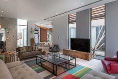 Contemporary three level home on Amwaj Island, Bahrain