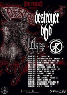 HARD N' HEAVY NEWS: DESTROYER 666 - TO START A NEW EUROPEAN TOUR