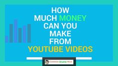 How Much Money Can You Make From Youtube Videos