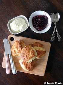 Today's recipe is a teeny-tiny batch of four scones to serve two people! (Or one hungry person, no judgement). They can be made super quick. Today's Recipe, Recipe Today, Best Pie, Just Bake, Tray Bakes, Greek Yogurt, Scones, Baked Goods, Boy Shower