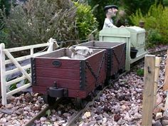 St Andrews Island Estate Railway. Copied from the Google Site. by Steph' The St Andrews Island Estate Railway is a 7/8ths scale garden railway occupying a small space about 30 by 15 feet with…