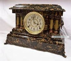 Dating Seth Thomas Adamantine Mantel Clock