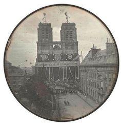 La plus ancienne photo de Notre-Dame.1842 !