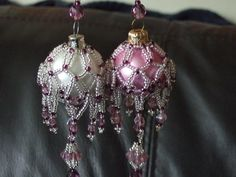 Beaded baubles just a picture