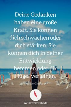 Good Life Quotes, Happy Quotes, Best Quotes, Positive Vibes Only, Positive Life, German Quotes, Perfect Word, Different Quotes, True Words