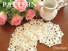 He encontrado este interesante anuncio de Etsy en https://www.etsy.com/es/listing/288247191/crochet-pattern-crochet-placemat-coaster