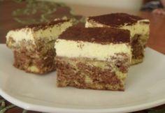 Almás krémes - ahogy Brigi készíti Hungarian Recipes, Fall Desserts, Cake Cookies, Cupcakes, Fudge, Nutella, Food Porn, Food And Drink, Cooking Recipes