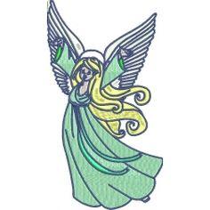 Angels One 005 Wonderful Machine, Cancer Support, Machine Embroidery Designs, Free Design, Applique, Angels, Zip, Machine Embroidery Patterns, Angel