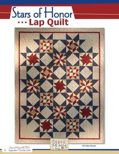 Debbie Mumm: Stars of Honor lap quilt