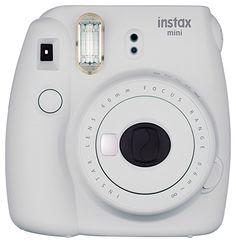 Fujifilm Instax Mini 9 Instant Camera - Smokey White