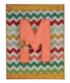 Monogram Canvas by @Crafts Direct.