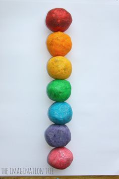 Using this without the color and glitter for our Pompeii volcanoes...  Rainbow coloured salt dough for making models