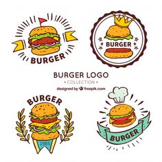 10 Mejores Imágenes De Logo Hamburguesa Hamburgers Brand Design Y