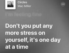 Mac Miller quote lyric
