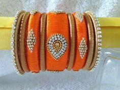 Silk Thread Bangles, Thread Jewellery, Jewels, Bracelets, Amazing, Beauty, Design, Bangle Bracelets, Jewelery