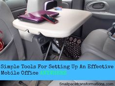 Simple Tools for Setting up an Effective Mobile Office anywhere.