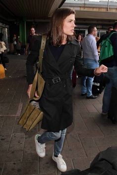 Welcome to your source for everything related to Charlotte Casiraghi, ambassadress of Gucci & Mont Blanc and in line to the Monegasque throne. Monaco Royal Family, Fall Winter Outfits, Preppy, Pure Products, Boyish Style, September 22, How To Wear, Trench Coats, Jackets