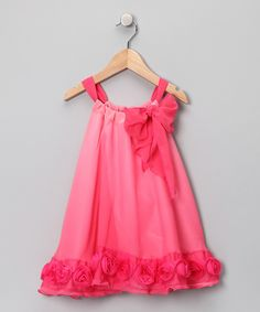 Kinda along the lines of a pillowcase dress, formal style. @becca geris.... Something for our girls to rock :)