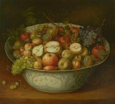 Schaal met vruchten  naar Osias Beert   formaat 62 x 70