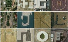 Hunting the English Alphabet through Google Earth!