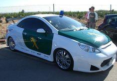 Peugeot 307 CC Guardia Civil policia española