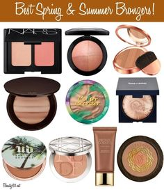 Best Spring & Summer Bronzers!