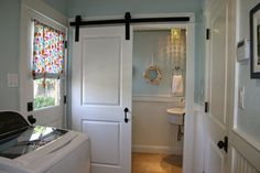 Home is Where the Heart is: Laundry & Powder Room Combo