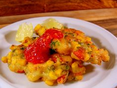 Lobster Corn Cakes