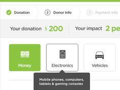 Donation Process