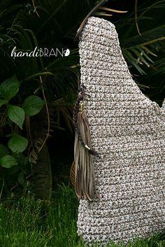 Crochet bag...raphia cord...handibrand.gr