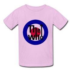 Kid's Cool The Who T-shirts By Mjensen Medium