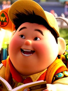 Russell from UP Russell Up Movie, Russel Up, Russell From Up, Disney Up, Disney Couples, Walt Disney, Up Pixar, Disney Pixar Movies, Up The Movie
