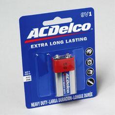 AC Delco 9 Volt 1 Pack Batteries Case Pack 48