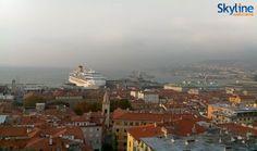 Live Webcam Panorama del Golfo di Trieste