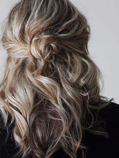 The Small Things Blog: faking, or enhancing, natural texture hair tutorial