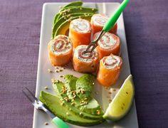 Bouchées de saumon aux herbesVoir la recette des Bouchées de saumon aux herbes