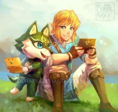 Animal Crossing/Legend of Zelda mash up