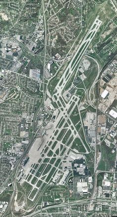 Aerial View Of The Massive World S Busiest Airport