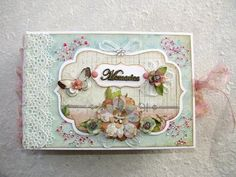 The Primrose Cardstock Mini Album - YouTube    I like some of the page ideas for my mini album.
