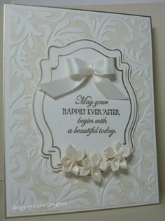 Our Little Inspirations: A Wedding Card for the TLC361