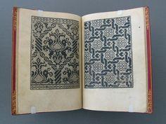 Ornamental Needlework Patterns, Nicolò Zoppino (Italian, fl. 1503–1544). Woodcuts in Convivio delle belle bonne... (Venice, 1531). The Getty Research Institute, 2917-968