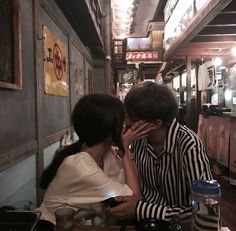 ulzzang couple shared by 王 on We Heart It