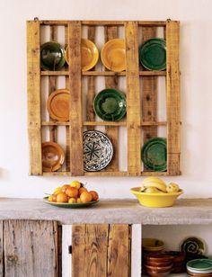 paletten möbel selbst basteln DIY küchen mobiliar