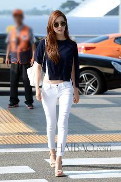 #Korean Style #Airport Fashion