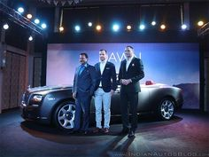Slideshow : Rolls Royce Dawn launched in India - Rolls Royce Dawn launched in India at Rs 6.25 crores - The Economic Times