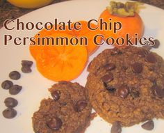 Chocolate Chip Persimmon Cookies
