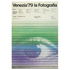 "strouzas: ""Bob Noorda 1927-2010 (NL) — Poster for a photography exhibition in Venice, by Unimark International 1979 (IT) """